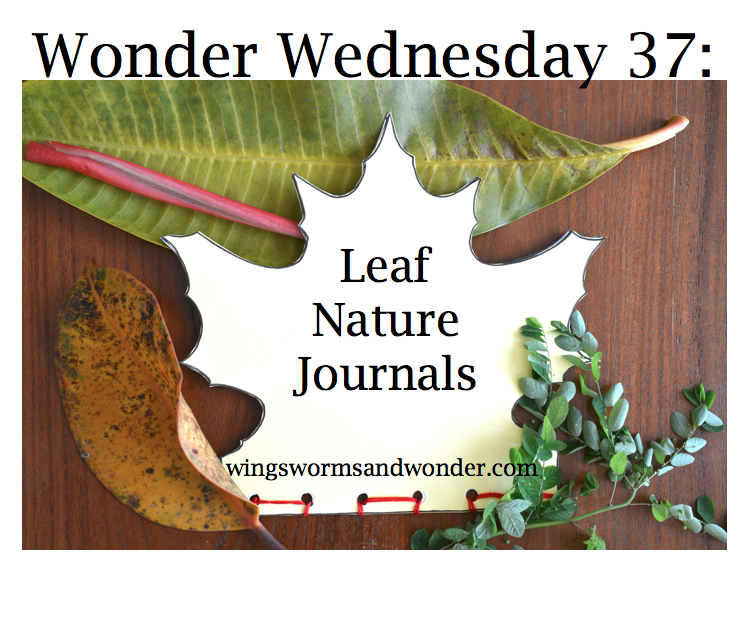 wonder wed leaf journals