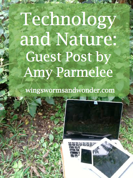 Finding a balance between technology and nature experience. CLick through to see how one mom achieves tech and nature harmony.