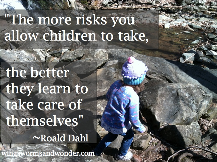 What do you think about kids and risks? It's quite the topic these days. Personally, I am all for it. Click through to learn more and get great resources for helping children navigate risk.