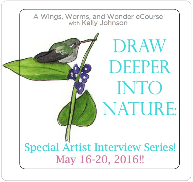 Get inspired with the WIngs, Worms, and Wonder Special Artist Interview Series. Click though to read the interviews!