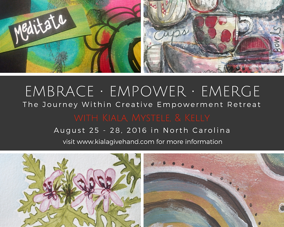 Looking for creative nature getaway for yourself? Join me August 25-28 at the Journey Within Creative Empowerment Retreat! Click and check it out here!