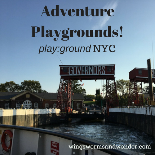 Get adventurous with adventure playgrounds! I visited one in NYC and have all the logistics set for you to plan your visit! Click to learn more!