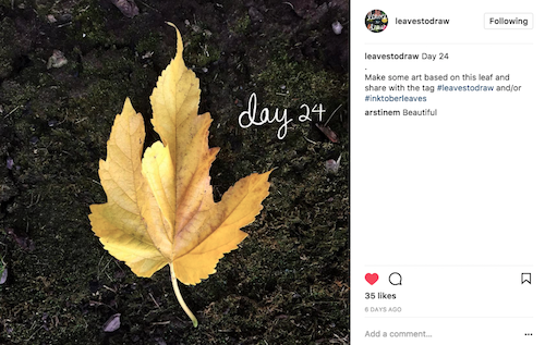 How will you keep nature and creativity in front of the holiday rush? Click to discover 4 November nature art challenges to keep you creatively connecting!