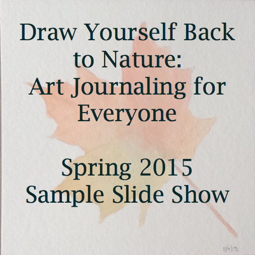 Draw Yourself Back to nature slide show
