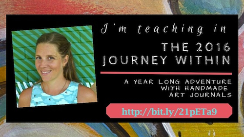 JOin WIngs, Worms, and Wonder on the Journey Within! Click to learn more about this book making and art journaling ecourse! http://classes.kialagivehand.com/courses/journey2016?affcode=11736_1448916827ec59