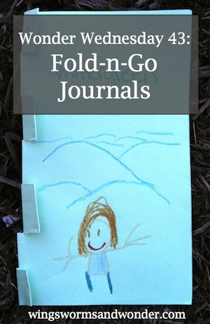 Celebrate spring iwth the super fun nature journal activity! Click to learn how to make this journal