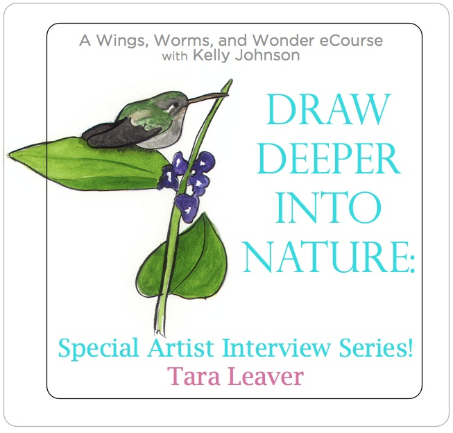 Check out the WIngs, Worms, and Wonder Draw Deeper Into Nature Interview Series! Click through to get inspired and win a free spot in the course!