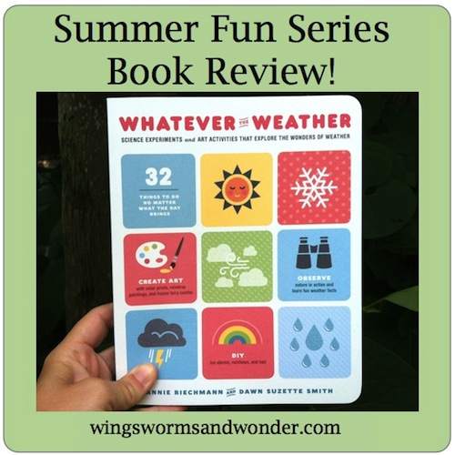 Check out this Review of Whatever the Weather by Annie Reichmann and Dawn Suzette Smith of Mud Puddles to Meteors!