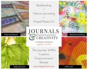 Join me this summer in the Journey Within Creative Empowerment Retreat hosted by Kiala Givehand! Click to learn more!