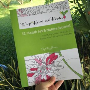 The Wings, Worms, and Wonder 12 Month Art & Nature Journal is available now!! Click to get your copy today!