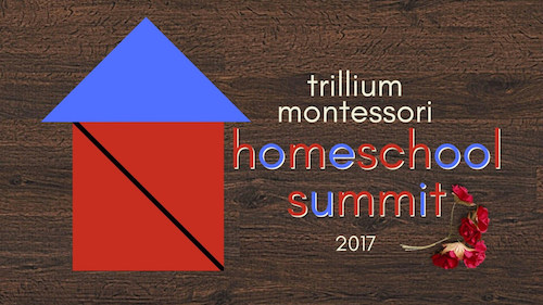 It's the Trillium Montessori Homeschool Summit! Click to learn more and enter to win a spot!