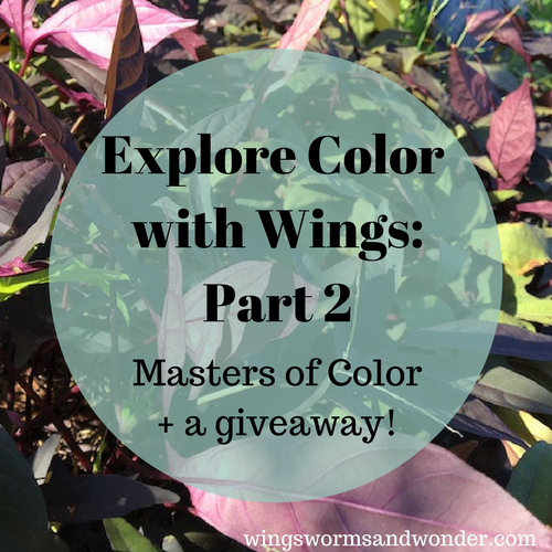 Welcome to week 2 of the Explore Color with Wings color theory series! Click to check out 3 masters of color theory and learn some application techniques!