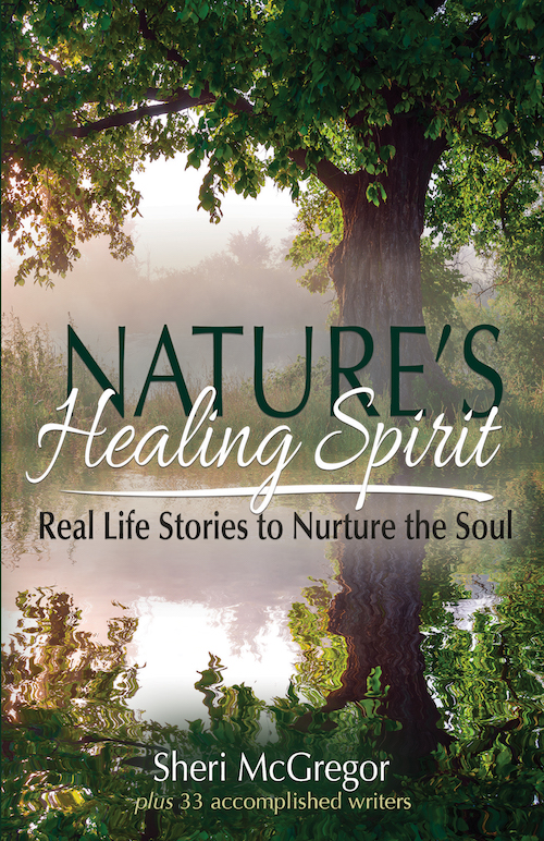 The power of sharing story, nature and flow is the strength behind the book Nature's Healing Spirit: Real Life Stories to Nurture the Soul. Click for review. frontcover-2018-03-05