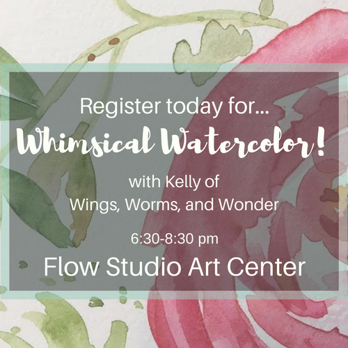 Wonder and Wander the book is almost here! Get the details on the Wonder Wednesday live and giveaway as well as summer art classes at Flow Studio!