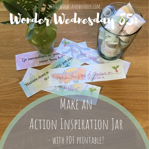 Make an Action Inspiration Jar - with PDF!