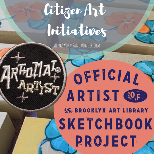 Get involved in a citizen art project! Click to discover how Wings, Worms, and Wonder explores citizen engaged art initiatives and how you can participate too!