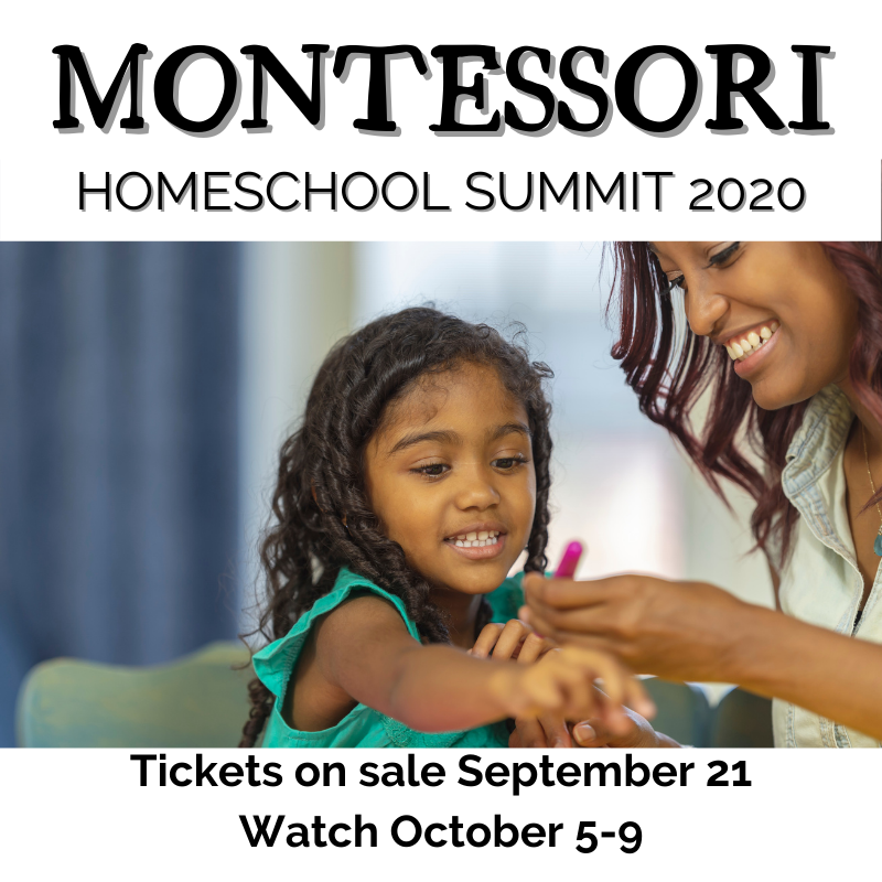 Join Wings, Worms, and Wonder in the 2020 Montessori Homeschool Summit! Click to learn more and register!