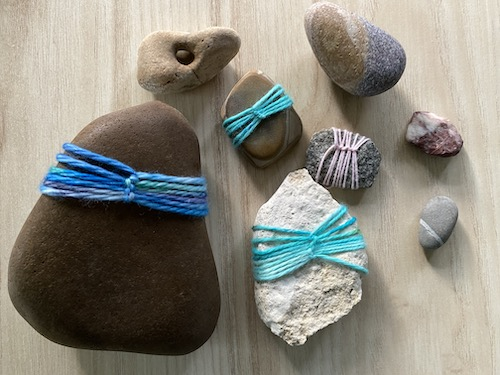 Celebrate the darkest nights with the grounding of stones and handwork! Click for the Wings, Worms, and Wonder Stone Wrapping Wonder Wednesday 101 Activity!